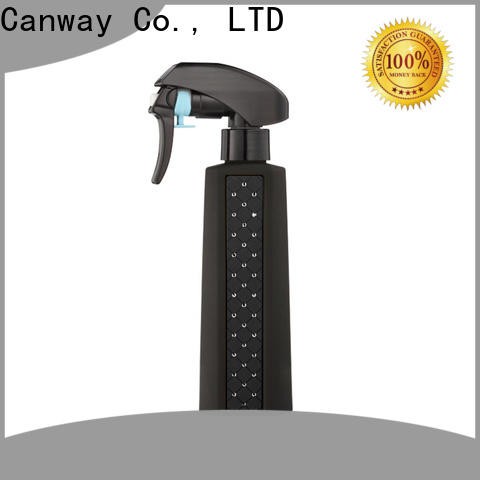 Canway shining hair spray bottle manufacturers for barber