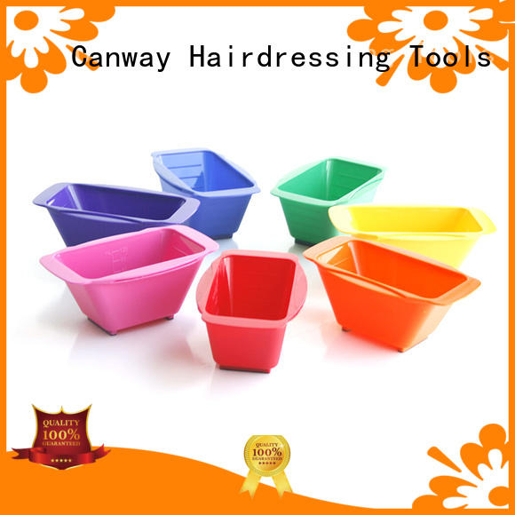 Canway paddle tinting bowl and brush suppliers for beauty salon