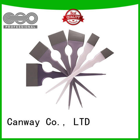 Canway High-quality tint hair brush supply for barber