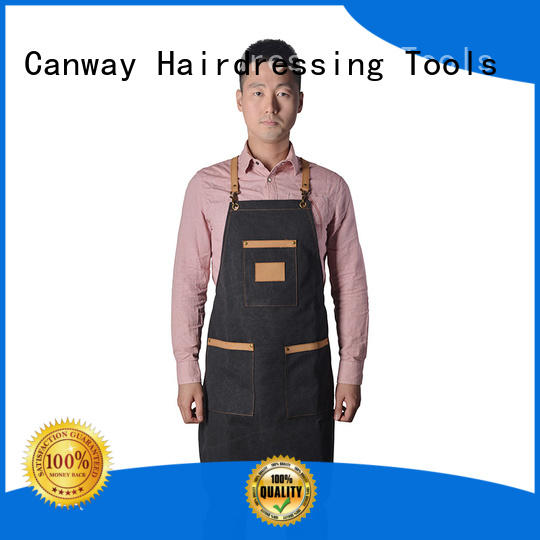 Canway High-quality salon aprons manufacturers for beauty salon