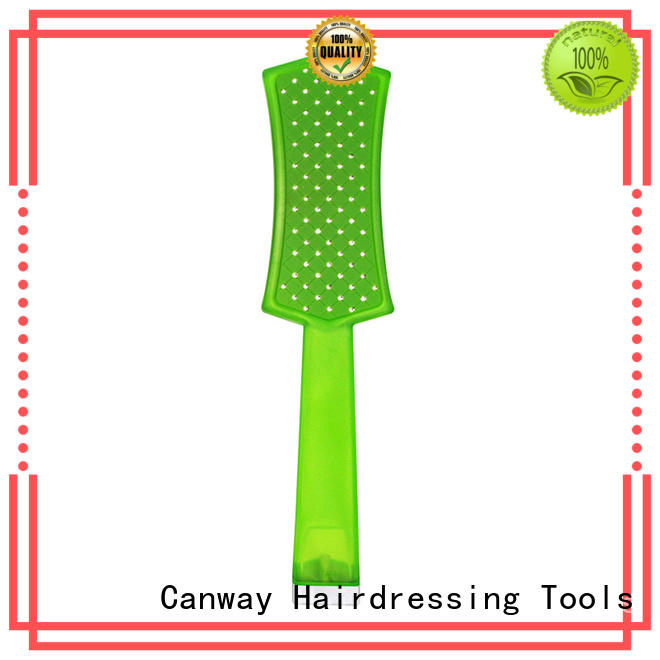 New hair brush and comb tangle company for hair salon