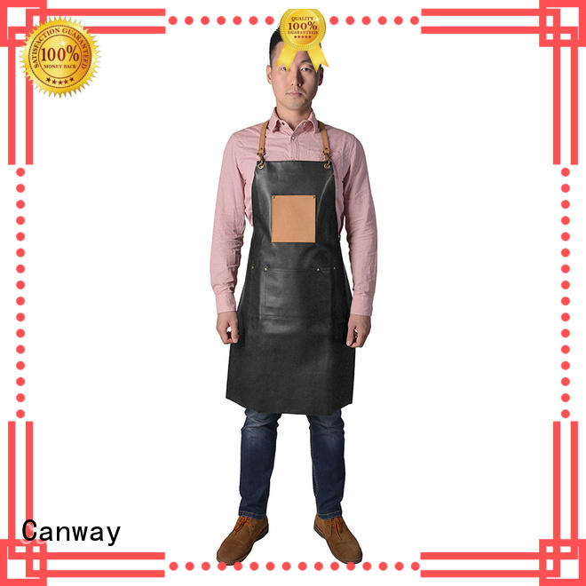 Canway apron barber cape factory for beauty salon