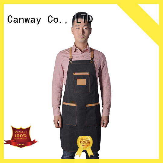 Canway material salon aprons factory for hairdresser