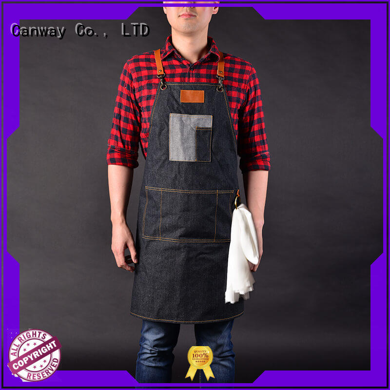 Canway Latest salon aprons supply for hairdresser