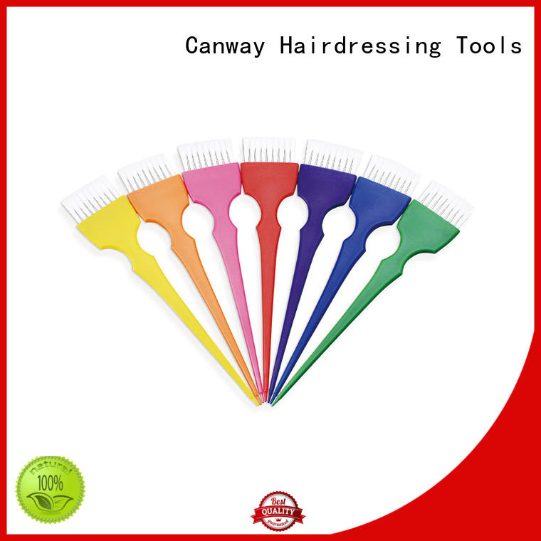 Canway rainbow tinting paddle factory for hairdresser