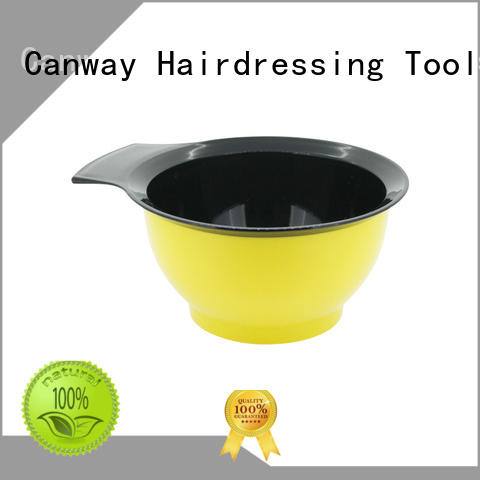 Canway different tinting bowl and brush factory for hair salon