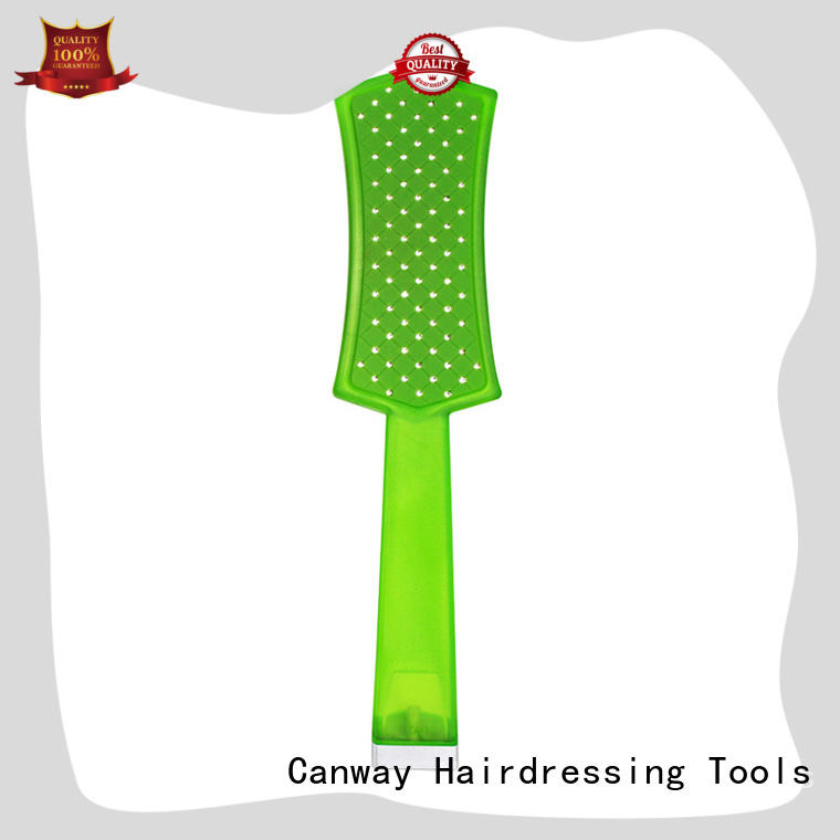 Canway hair detangle brush customized for hair salon