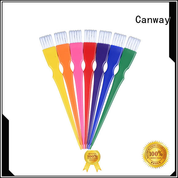 Canway sizes tint hair brush suppliers for hairdresser
