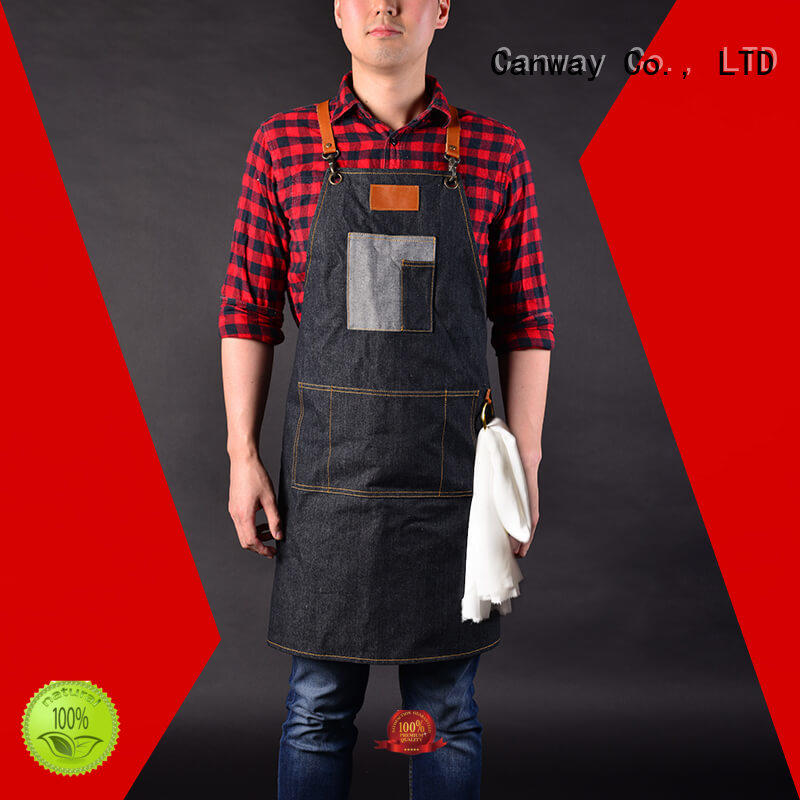 Canway wearproof hair apron directly sale for hairdresser