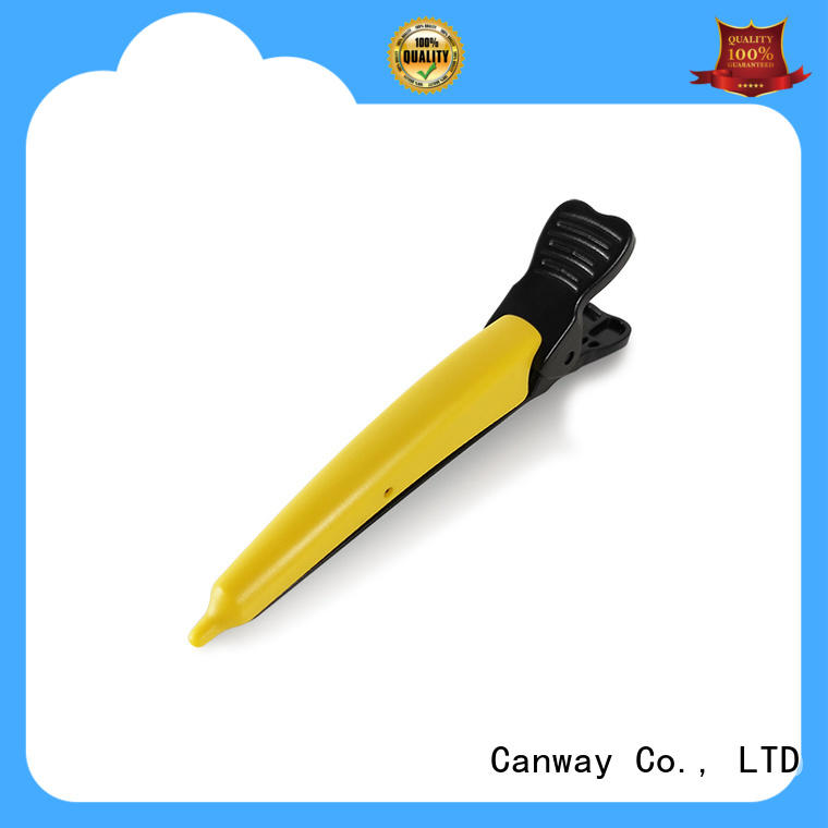 Canway shining hair sectioning clips factory for hair salon