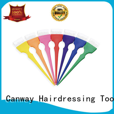 Canway silicone tinting bowl and brush factory for hair salon