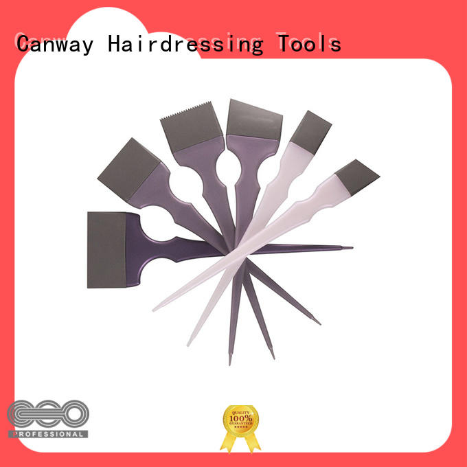 Canway softouch tint hair brush company for hairdresser