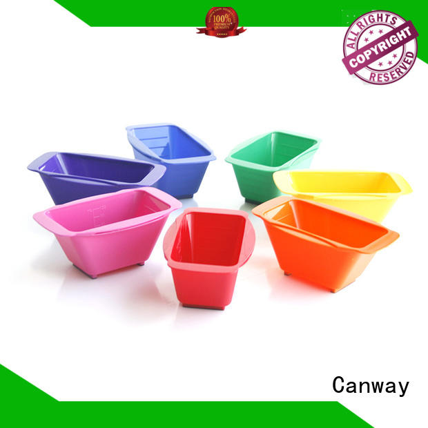 Canway Top tinting bowl and brush for business for hair salon