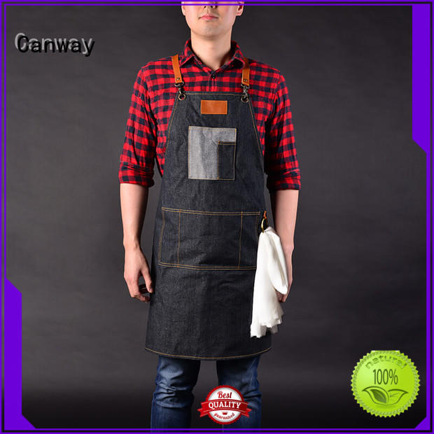 Canway vintage hairdresser apron factory for hair salon