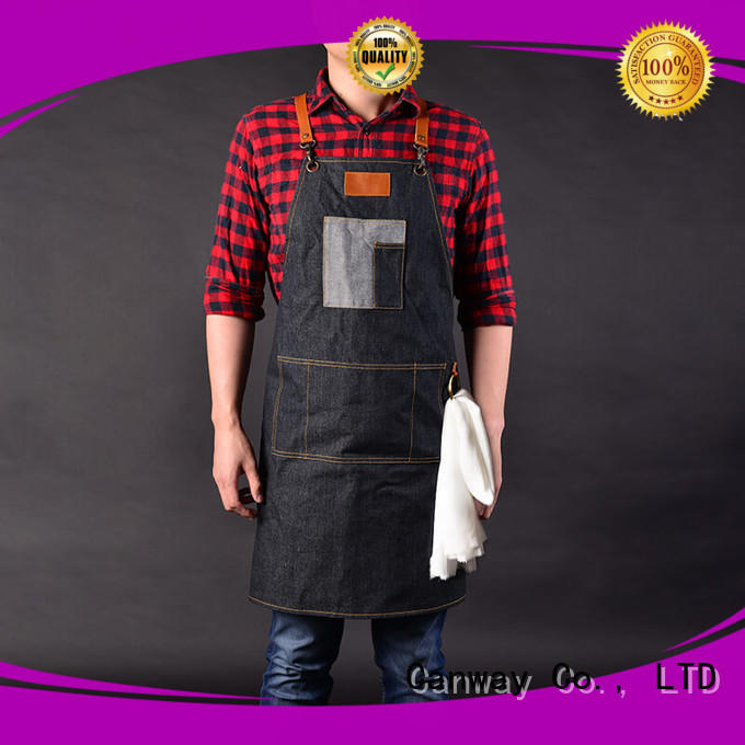 Canway wearproof salon aprons supply for hair salon