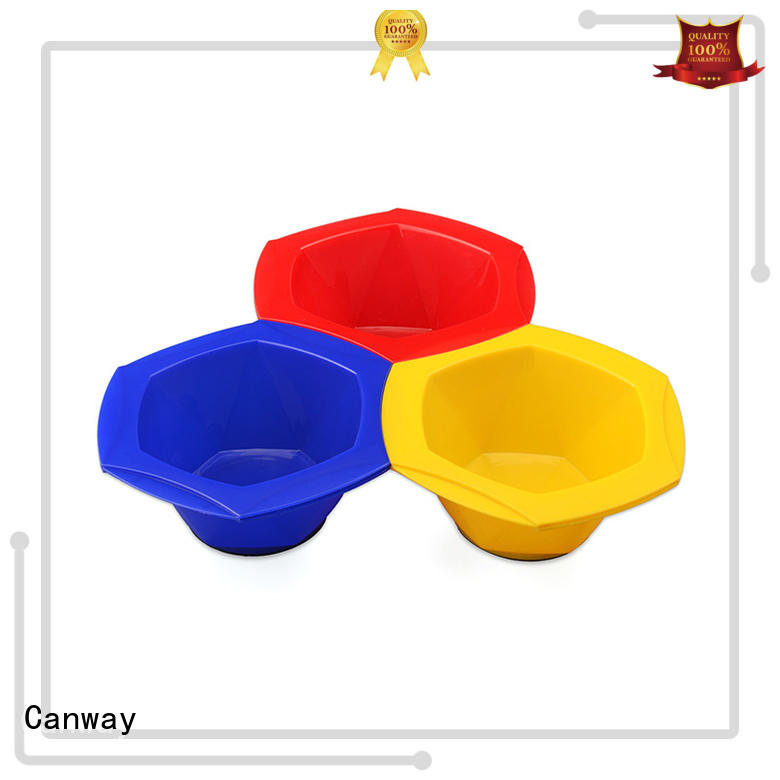 Canway paddle tinting bowl and brush company for beauty salon