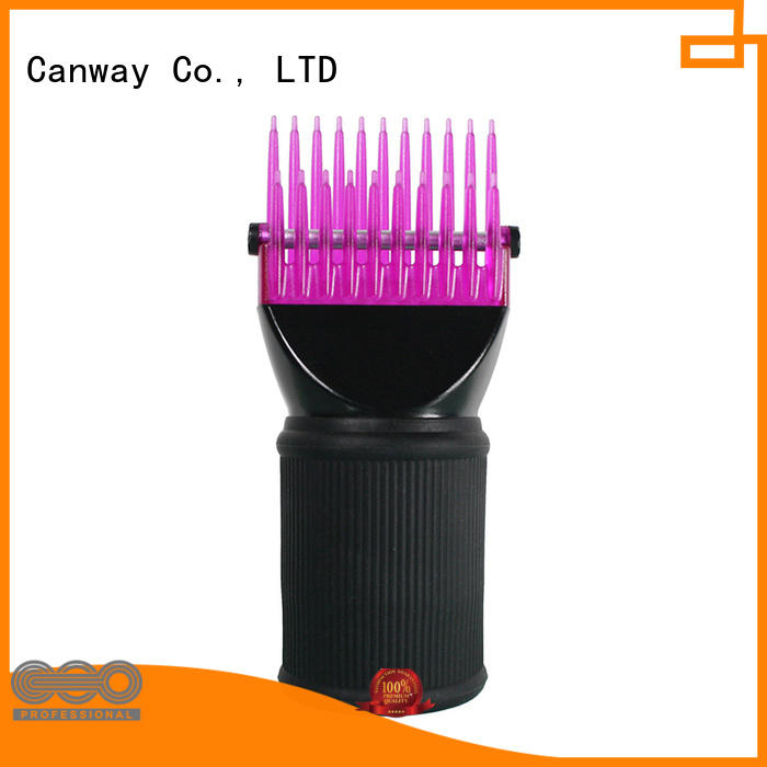 Canway design hair dryer diffuser attachment suppliers for hair salon