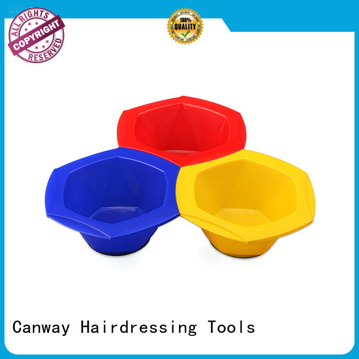 Canway Custom hairdressing tint brushes suppliers for hair salon