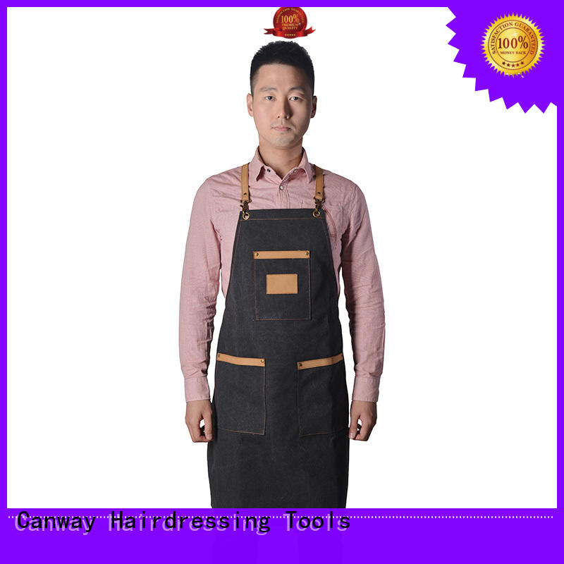 Canway fiber hairdresser apron suppliers for hairdresser