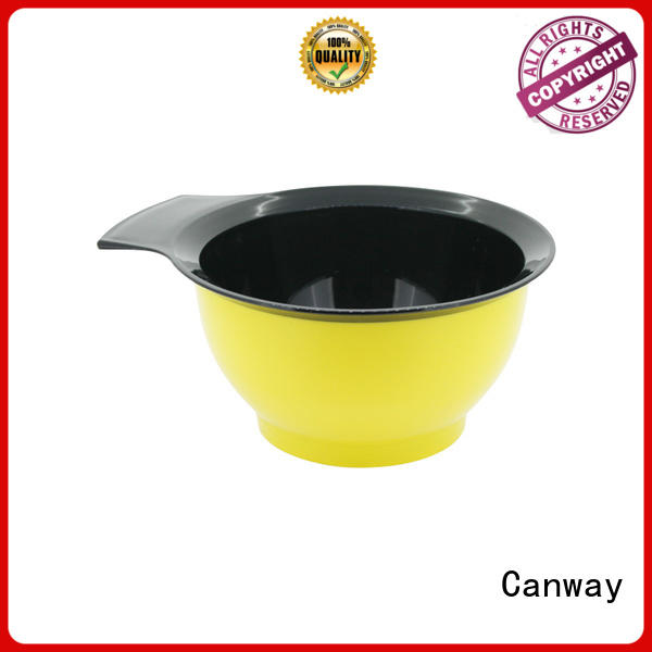 Canway material tinting bowl and brush factory for hair salon
