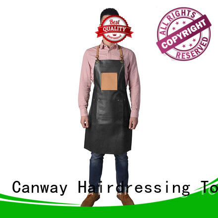 Canway barber hair apron manufacturers for hairdresser
