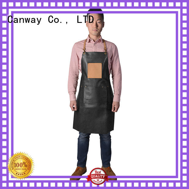 Canway canvas hair salon cape manufacturers for beauty salon