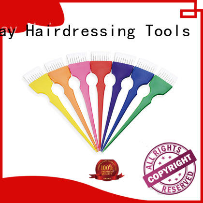 colorful tinting bowl and brush supplier for hairdresser