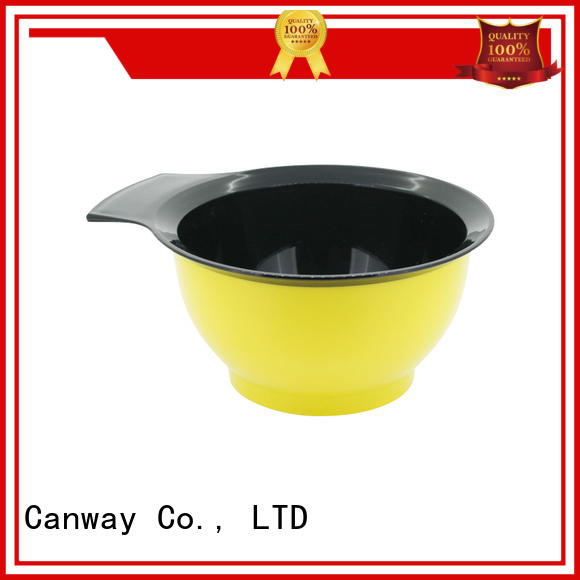 Canway sizes tinting bowl and brush for business for beauty salon
