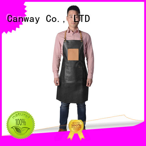 Canway vintage barber apron factory for beauty salon