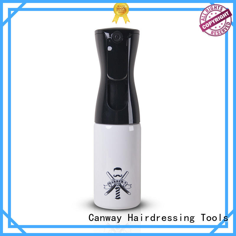 Canway Top hair spray bottle supply for hairdresser