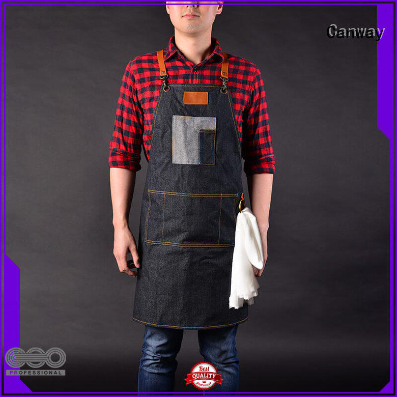 Canway High-quality barber apron for business for beauty salon