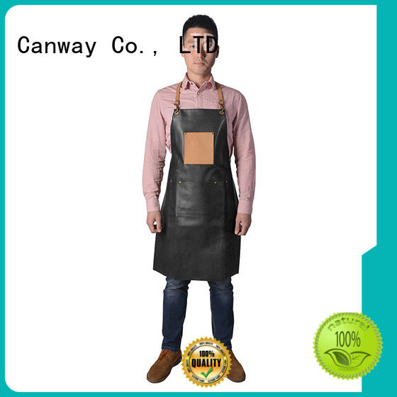 Canway material hair apron company for hairdresser
