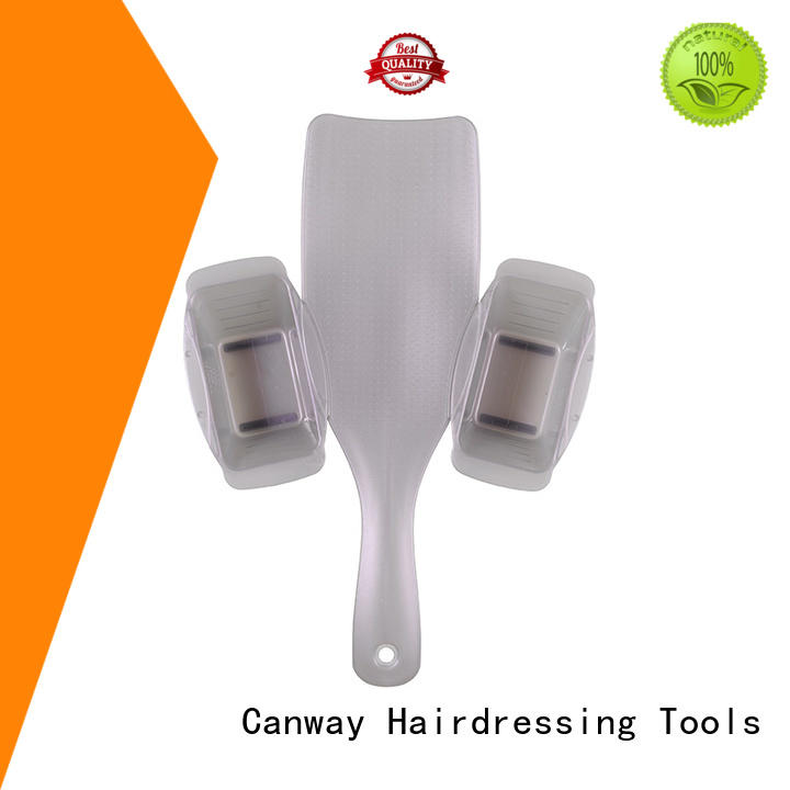 Canway connective tint hair brush supply for barber